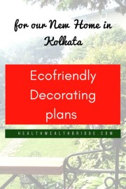 Eco-friendly Decorating plans for our New Home in Kolkata: The plan (Step 1).