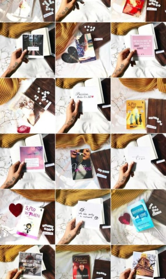 How to create a Beautiful Bookstagram