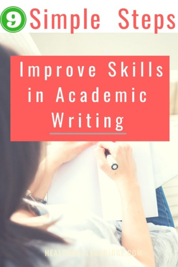 9 Simple steps to improve Academic Writing