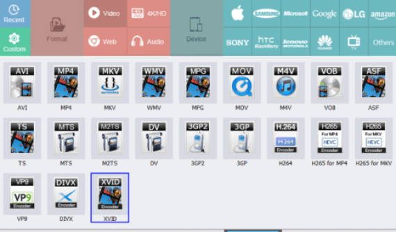 HD Video Converter Factory Pro: Multiple Video formats