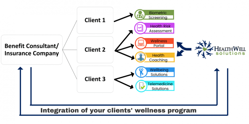 employer wellness programs for benefit consultants & insurances