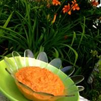 Roasted Red Pepper Hummus (Paleo)