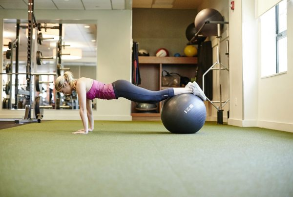 workout when sore