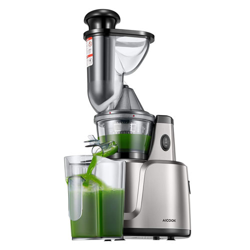 Aicook 3-in-1 Slow Masticating Cold Press Juicer