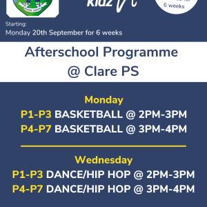 Healthy Kidz Afterschools at Clare PS