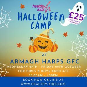 Halloween Camp at Armagh Harps GFC