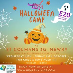 Halloween Camp at St Colman's 3G, Newry