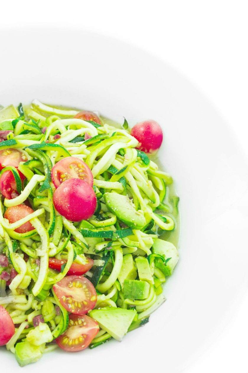 zucchini nudeln healthy soulfood