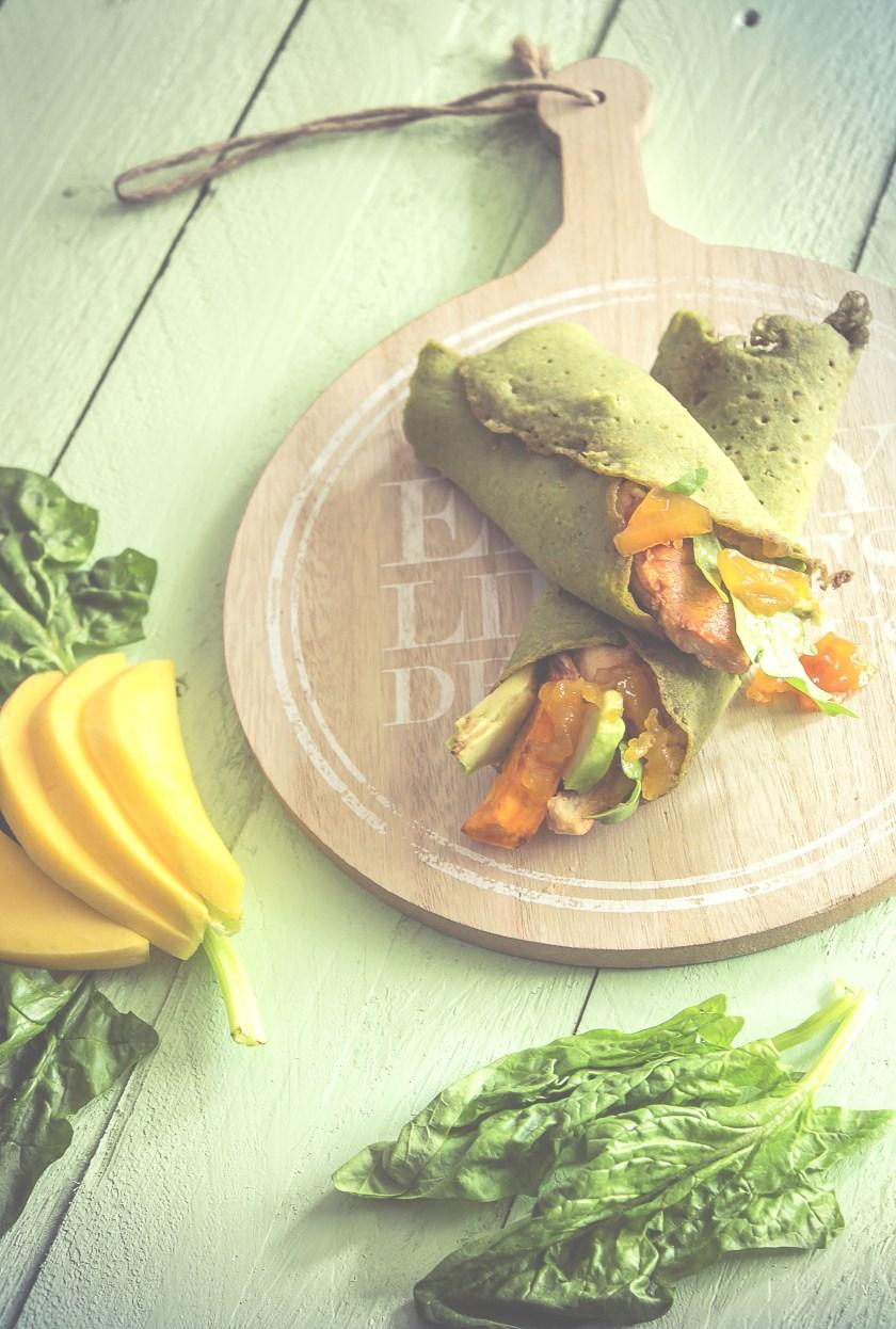 glutenfreie_Spinat Wraps_grün_gesund_healthy_soulfood_2