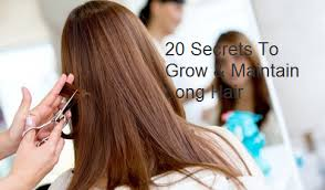 20 Secrets To Grow & Maintain Long Hair