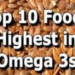 Top  Foods High in Omega-3