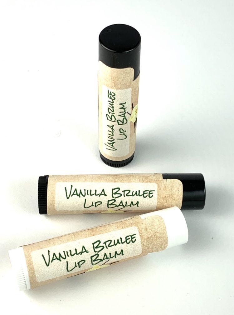 Vanilla Brulee Lip Balm for Healthy Lips