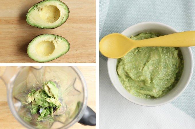 Baby Avocado puree/recipe