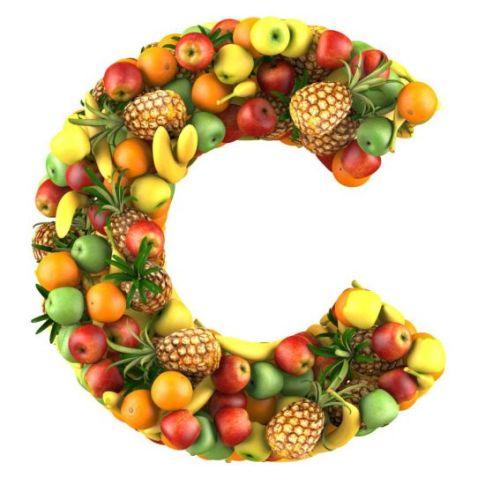Vitamin C or L-ascorbic acid