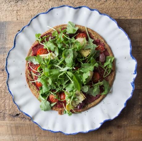 gezonde pizza met quinoa