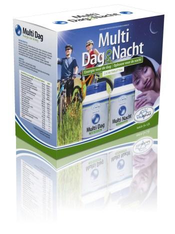 Vitakruid multivitamine dag nacht 90 stuks