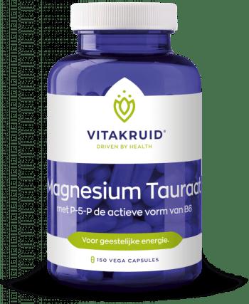 Magnesium tauraat geestelijke energie concentratie gemoedstoestand