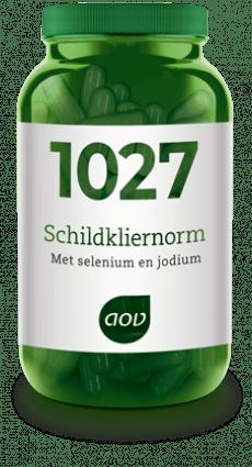 trage schildklier hashimoto jodium selenium zink thyroid