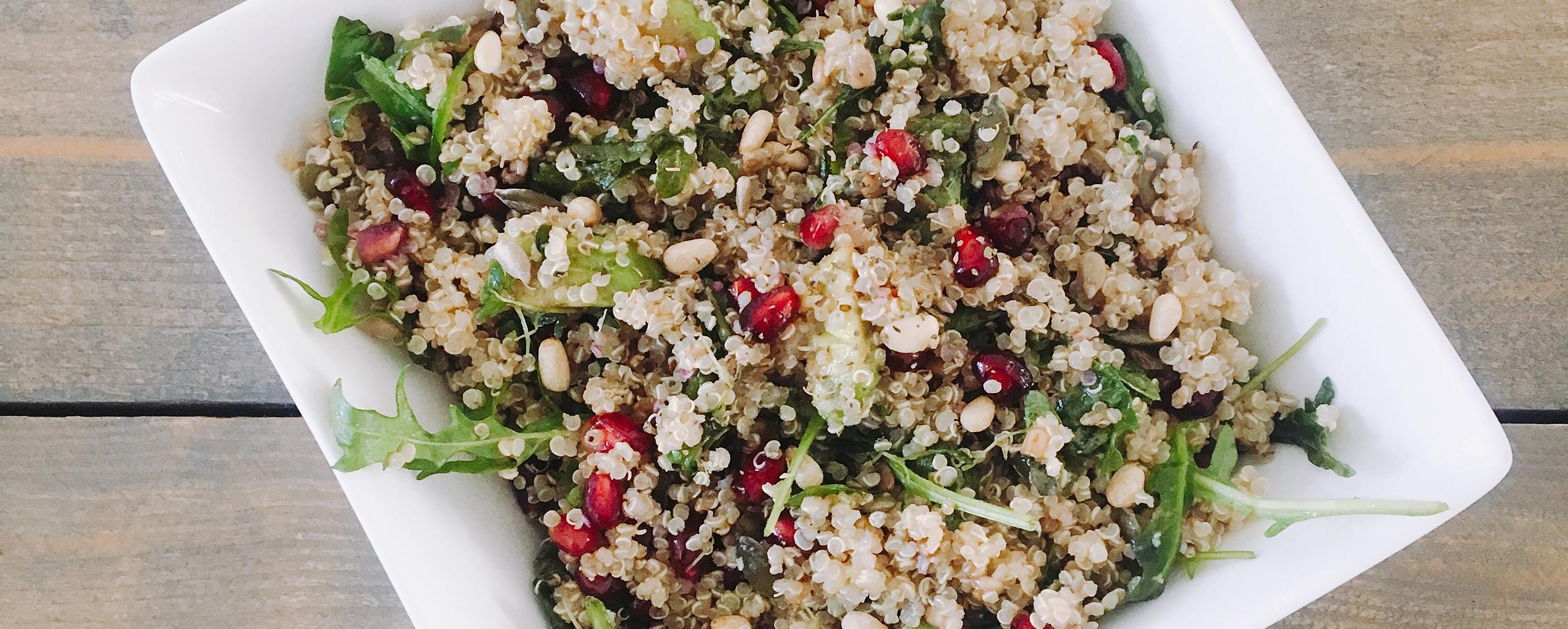 Quinoa salade recept vegan plantaardig