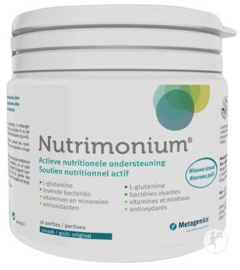 Metagenics Nutrimonium multivitamine L-glutamine prebiotica probiotica antioxidanten