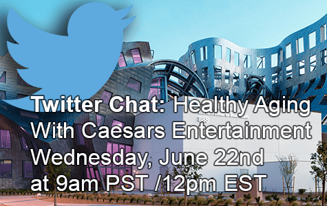 Chat de Twitter: #3pHealthyAging con Caesars Entertainment