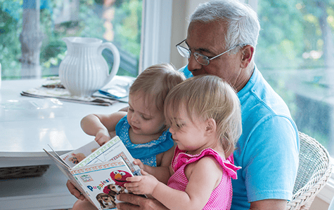 Why is Grandpa Acting Differently?  How to Explain Alzheimer's Disease to Your Kids
