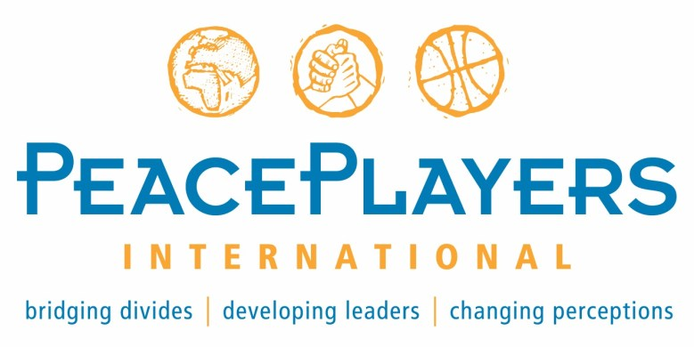 PeacePlayers Logo orange-blue