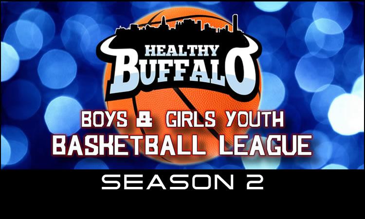 Youth Basketball League Logo Border 750 Season 2