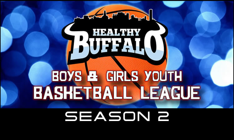 Youth Basketball League Logo Border 750 Season 2
