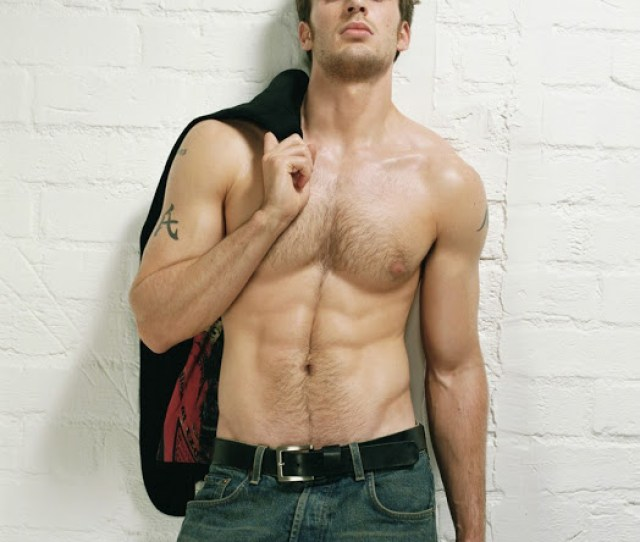 Chris Evans Body