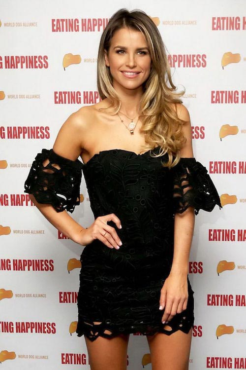 """Vogue Williams at """"Eating Happiness"""" VIP screening in London on January 25, 2016"""