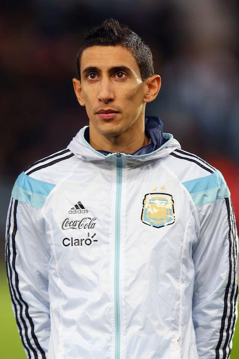 angel di maria height weight age