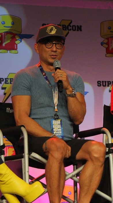 Paul Nakauchi as seen while speaking at Florida SuperCon in 2018