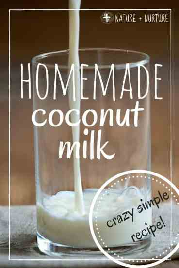 Homemade Coconut Milk - You Won't Believe How Easy It Is!