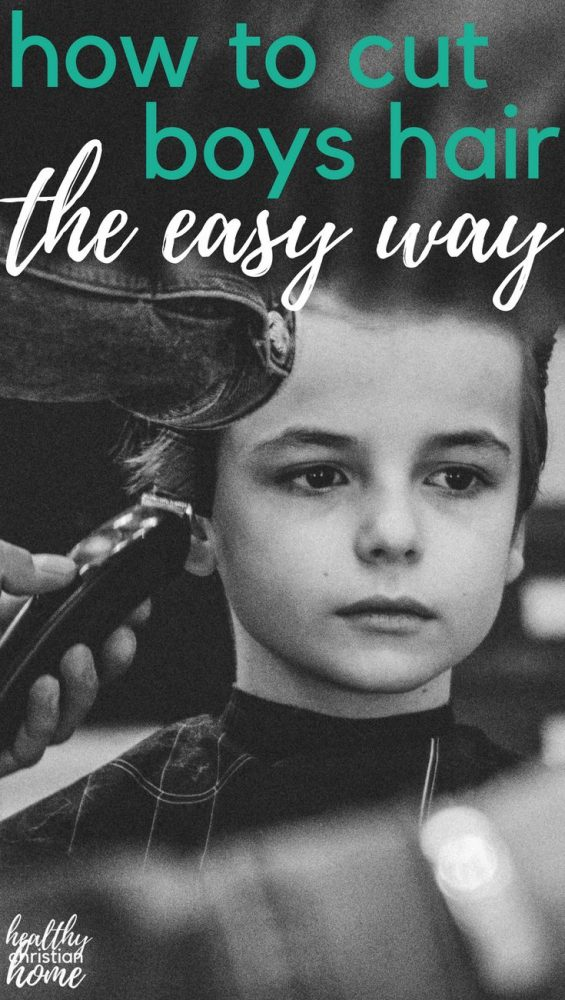 Learning how to cut boys hair doesn't have to be difficult. A little info and practice can save you a LOT of money. Read on & learn how to do a boys haircut at home - the easy way!