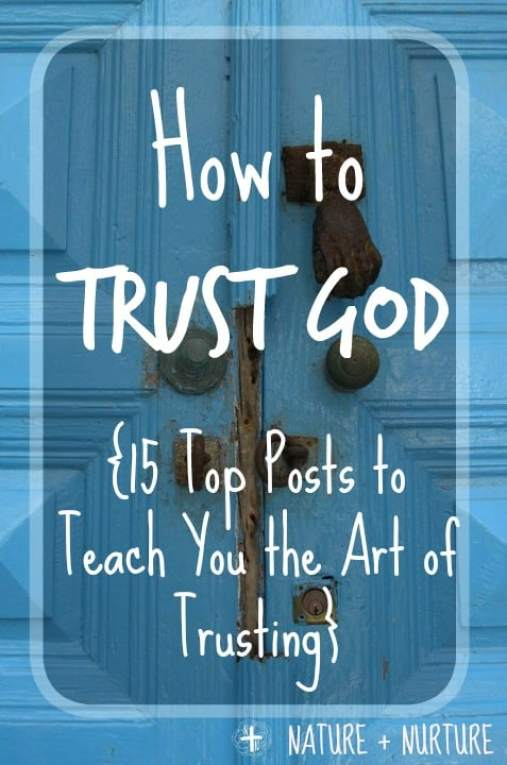How to Trust God