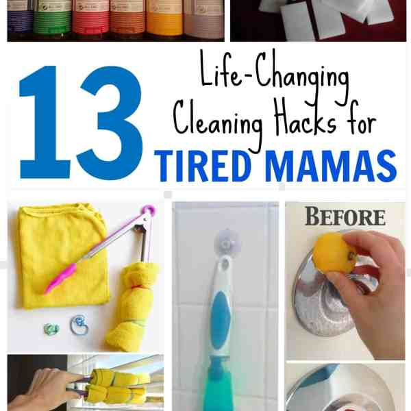 Cleaning Ideas: 13 Time-Saving Hacks for Tired Mamas