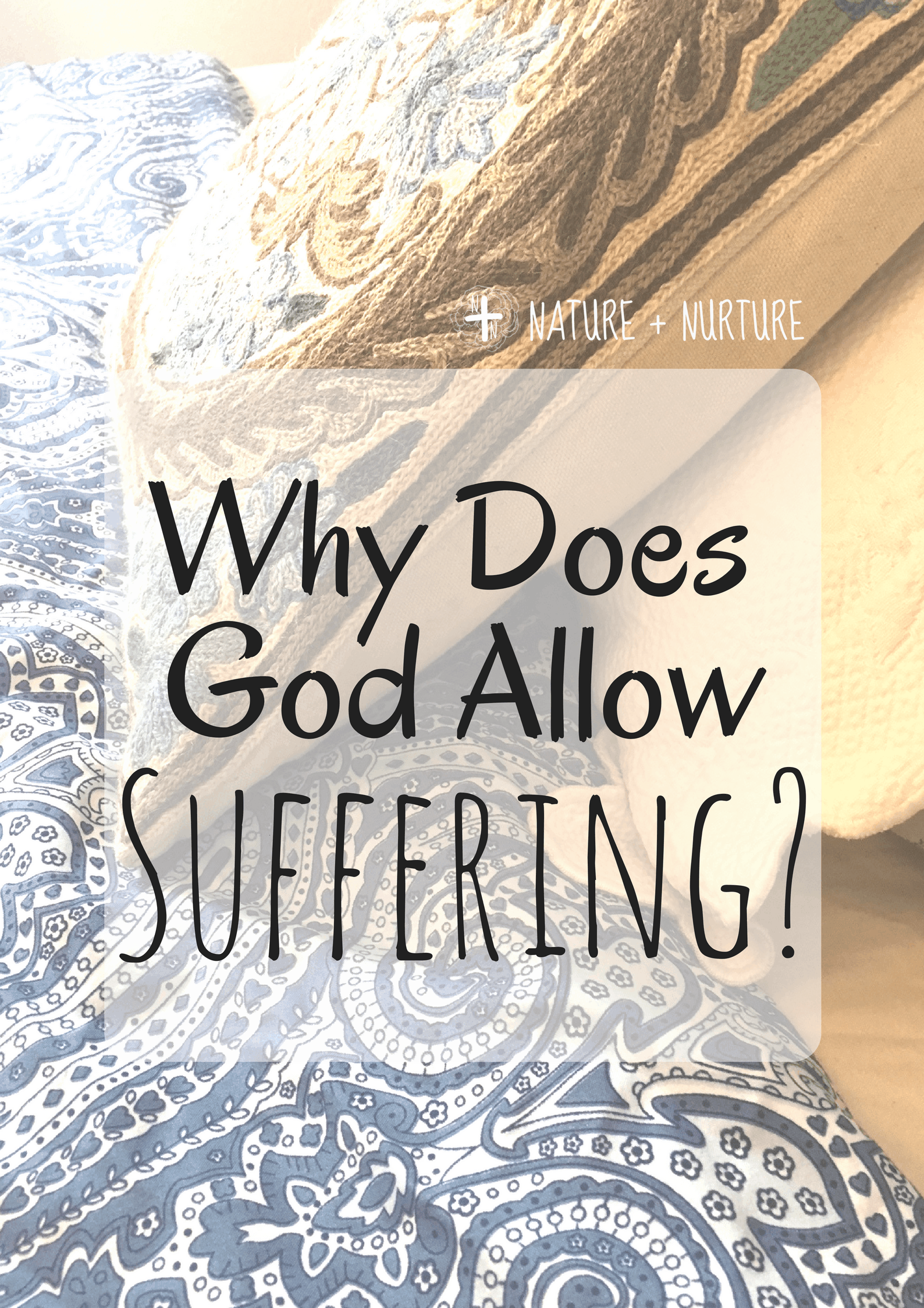 """Why do bad things happen, especially to good people? When suffering strikes, it's natural to ask """"why?"""" Here are a few points to consider."""