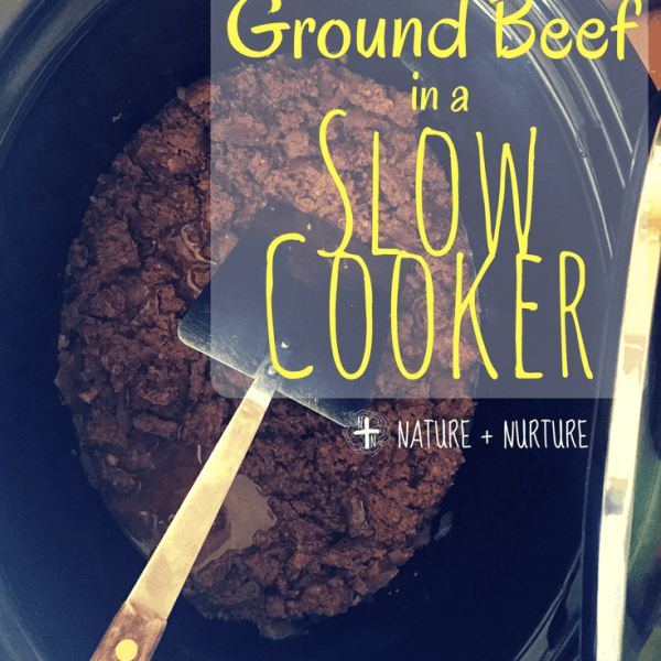Slow Cooker Ground Beef – Save Time & Cleanup!
