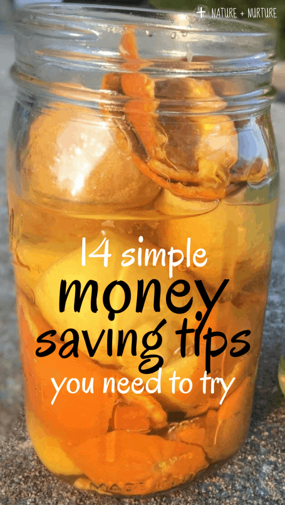 Learn how to save money without sacrificing family fun! These 14 money saving tips don't take much effort, but they will ease stress and create a brighter financial future for you and your family. Find out easy ways you can save money today!