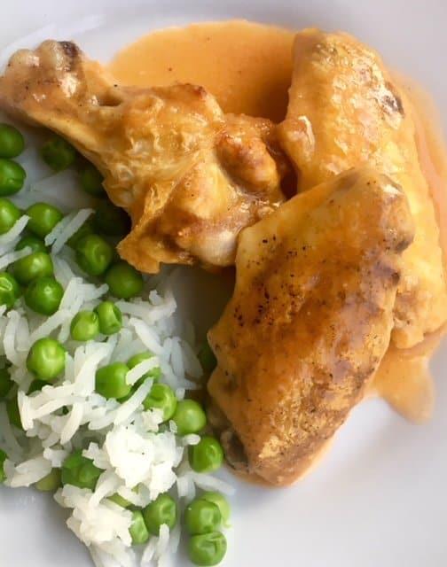 Baking Frozen Wings Like a Pro {with Buffalo Chicken Gravy}
