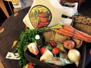 Silver Stage Co-Op's CSA Basket Program