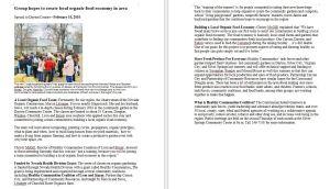2010 press release on efforts to create a regional healthy food hub