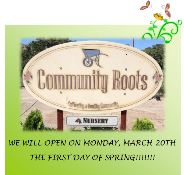 community roots opening 2017