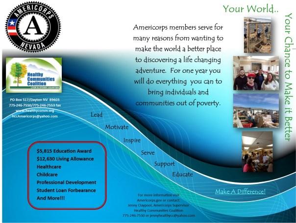 Americorps Recruitment Flyer