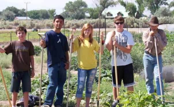 community garden one dayton