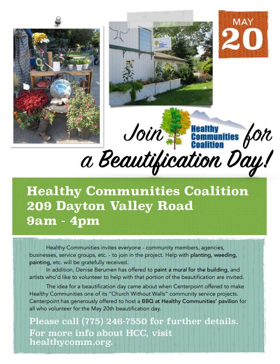 beautification day poster