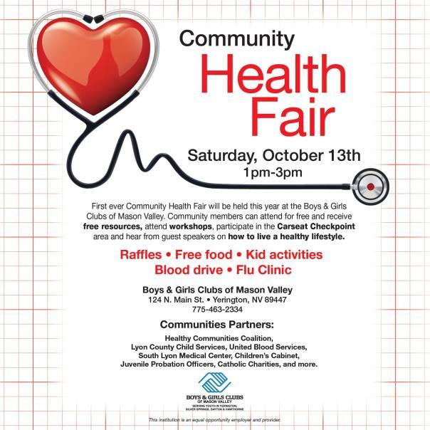health fair yerington