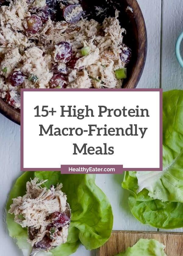 MacroFriendly 15 Delicious High Protein Meals