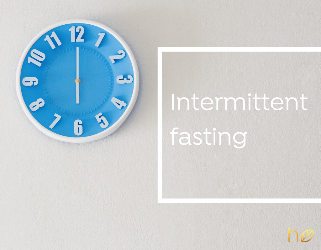 intermittent fasting healthy eating dr